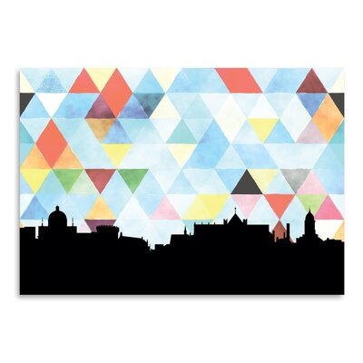 Americanflat 'Dublin_Triangle' by PaperFinch Graphic Art