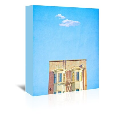Americanflat 'Lonely-Skies-San-Francisco' by Mina Teslaru Art Print Wrapped on Canvas