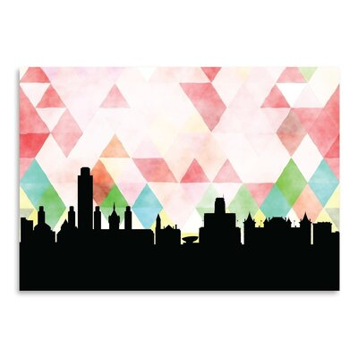 Americanflat 'Albany Triangle' by Paper Finch Graphic Art