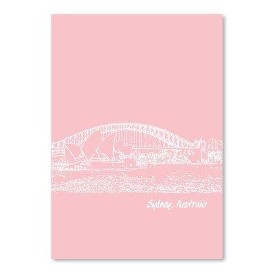 Americanflat 'Skyline Sydney 9' by Brooke Witt Graphic Art