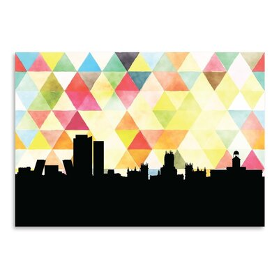 Americanflat 'Madrid_Triangle' by PaperFinch Graphic Art