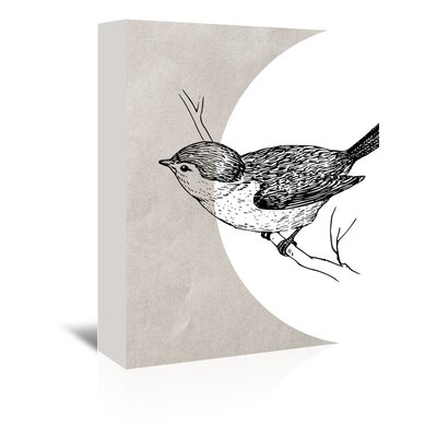 Americanflat 'Bird1' by Ikonolexi Graphic Art Wrapped on Canvas