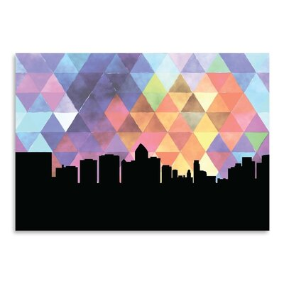 Americanflat 'Bangkok Triangle' by Paper Finch Graphic Art