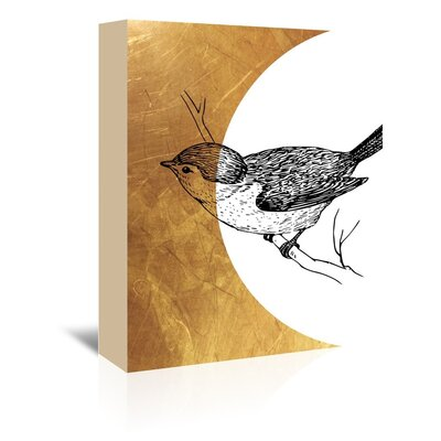 Americanflat 'Bird4' by Ikonolexi Graphic Art Wrapped on Canvas