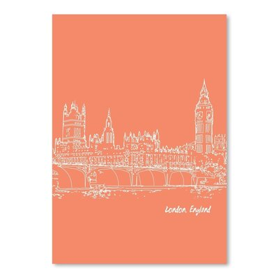 Americanflat 'Skyline London 8' by Brooke Witt Graphic Art