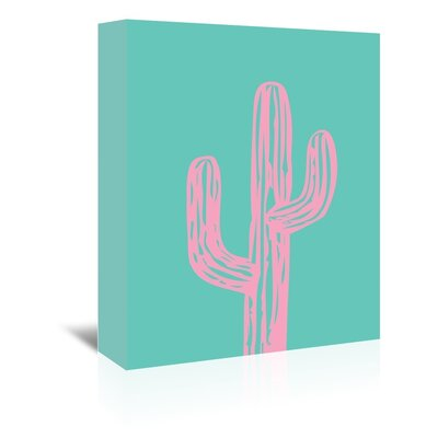 Americanflat 'Cactus' by Ashlee Rae Graphic Art Wrapped on Canvas