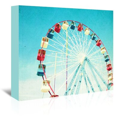 Americanflat 'Jersey-Ferris' by Mina Teslaru Photographic Print Wrapped on Canvas