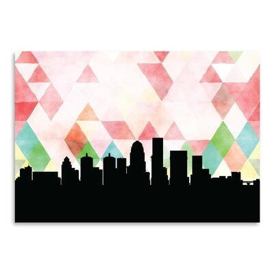 Americanflat 'Louisville_Triangle' by PaperFinch Graphic Art