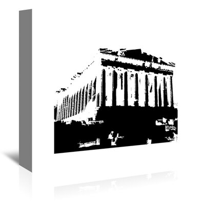 Americanflat 'Acropolis2' by Ikonolexi Graphic Art Wrapped on Canvas