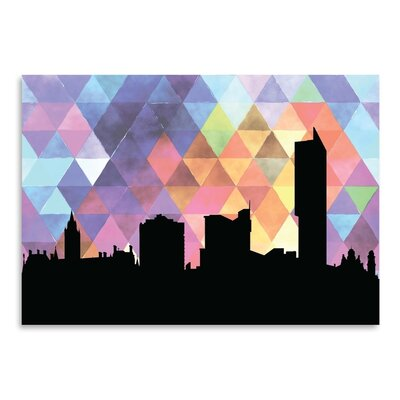 Americanflat 'Manchester Triangle' by PaperFinch Graphic Art