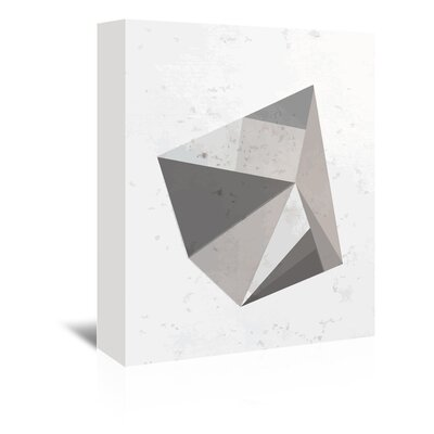 Americanflat 'Concrete_Gem2' The Glass Mountain Graphic Art Wrapped on Canvas