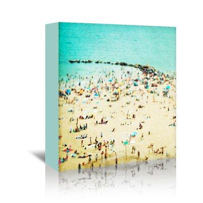 Americanflat 'Coney-Island-Beach 1' by Mina Teslaru Photographic Print