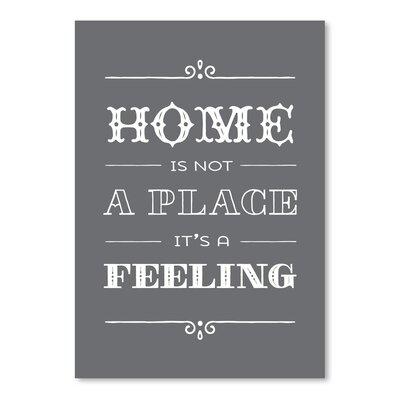 Americanflat 'Type Home' by Brooke Witt Typography