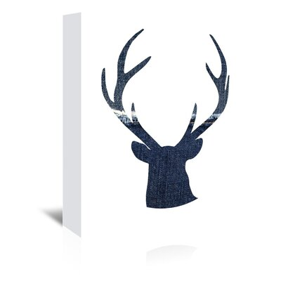 Americanflat 'Deer1' by Ikonolexi Graphic Art Wrapped on Canvas