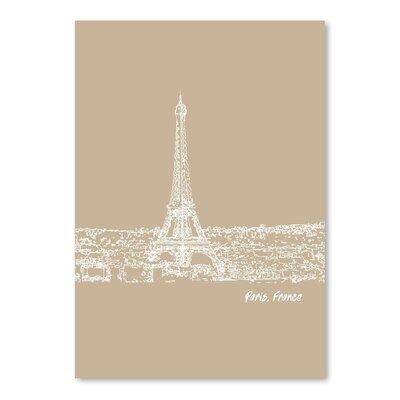 Americanflat 'Skyline Paris 7' by Brooke Witt Graphic Art