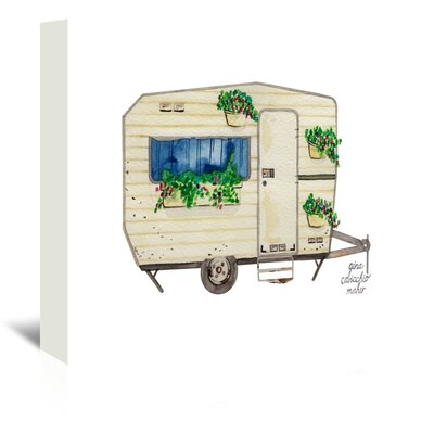 Americanflat Caravan' by Gina Maher Art Print Wrapped on Canvas