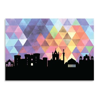 Americanflat 'Naples Triangle' by PaperFinch Graphic Art