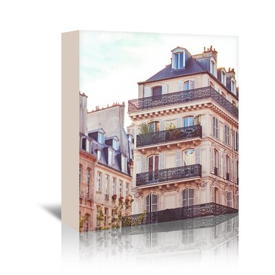 Americanflat 'Paris-Architecture-2' by Mina Teslaru Photographic Print Wrapped on Canvas