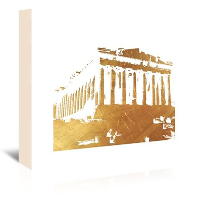 Americanflat 'Acropolis1' by Ikonolexi Graphic Art Wrapped on Canvas