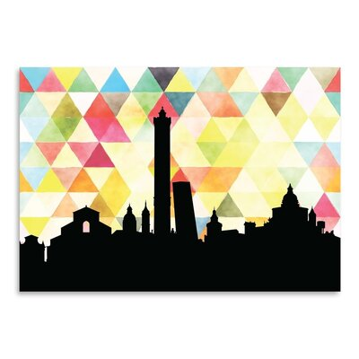 Americanflat 'Bologna Triangle' by Paper Finch Graphic Art