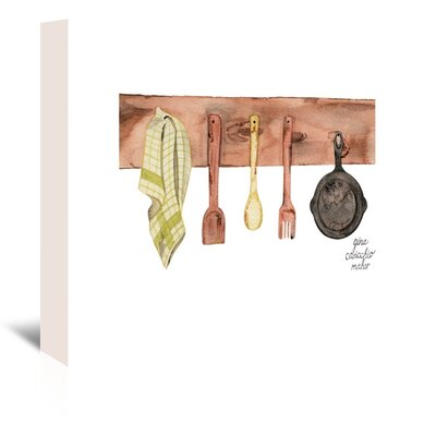 Americanflat Rustic Kitchen' by Gina Maher Art Print on Canvas