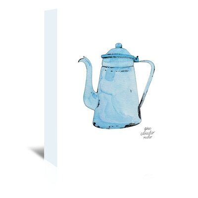 Americanflat 'Teakettle' by Gina Maher Art Print Wrapped on Canvas