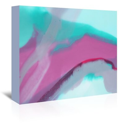 Americanflat 'Up Close & Pink' by Deb McNaughton Graphic Art Wrapped on Canvas