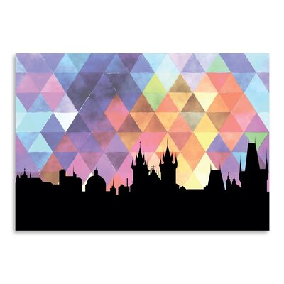 Americanflat 'Prague_Triangle' by PaperFinch Graphic Art