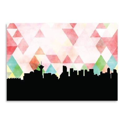 Americanflat 'Vancouver Triangle' by PaperFinch Graphic Art
