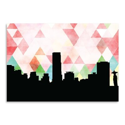 Americanflat 'Seoul Triangle' by PaperFinch Graphic Art
