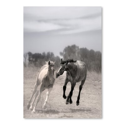 Americanflat 'Playful Pals 4' by Murray Bolesta Photographic Print