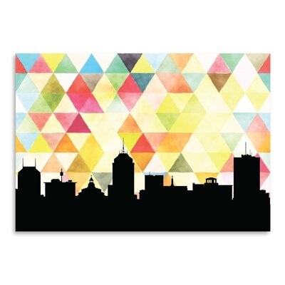 Americanflat 'Fresno Triangle' by PaperFinch Graphic Art