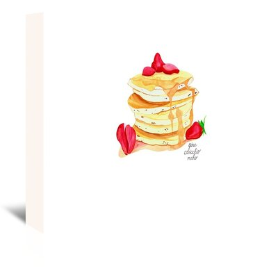 Americanflat 'Pancakes' by Gina Maher Art Print Wrapped on Canvas