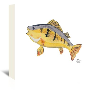 Americanflat 'Fish' by Gina Maher Art Print Wrapped on Canvas
