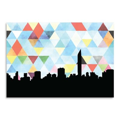 Americanflat 'Mumbai_Triangle' by PaperFinch Graphic Art