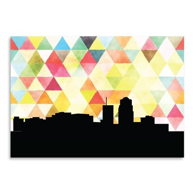 Americanflat 'Tucson Triangle' by PaperFinch Graphic Art