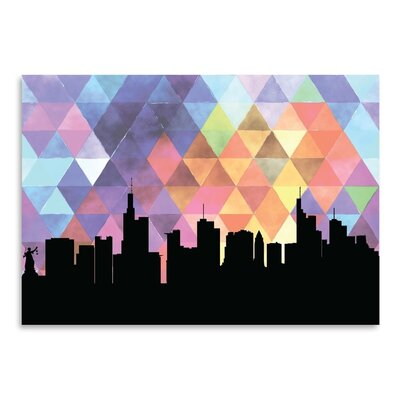 Americanflat 'Frankfurt_Triangle' by PaperFinch Graphic Art