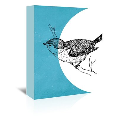 Americanflat 'Bird' by Ikonolexi Graphic Art Wrapped on Canvas