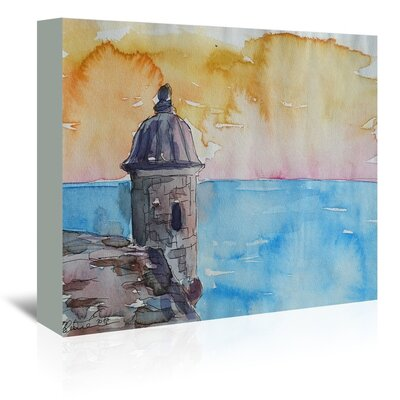 Americanflat 'Puerto Rico El Morro' by M Bleichner Art Print Wrapped on Canvas