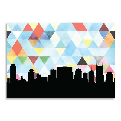Americanflat 'Nashville Triangle' by PaperFinch Graphic Art