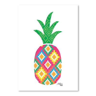 Americanflat 'Mexicano Pineapple' by Ashlee Rae Graphic Art