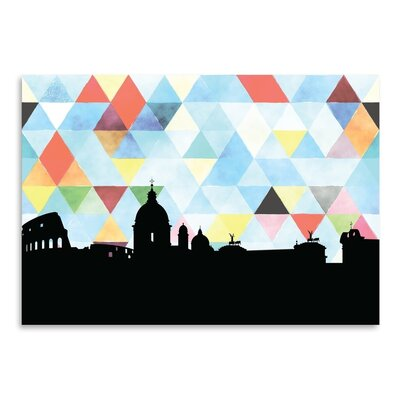 Americanflat 'Rome_Triangle' by PaperFinch Graphic Art