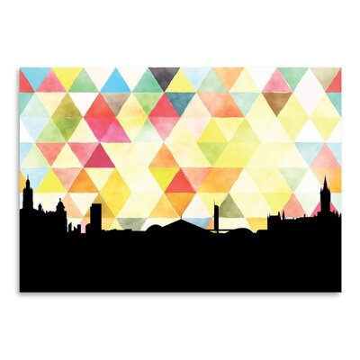 Americanflat 'Glasglow_Triangle' by PaperFinch Graphic Art