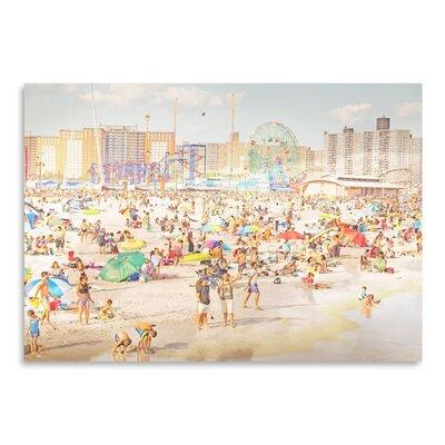 Americanflat 'Brooklyn-Beach' by Mina Teslaru Photographic Print