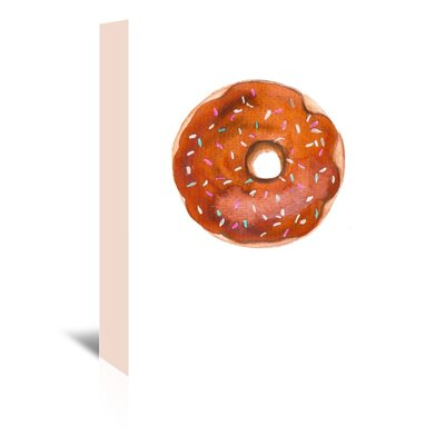 Americanflat 'Choc Doughnut' by Alison B Art Print Wrapped on Canvas