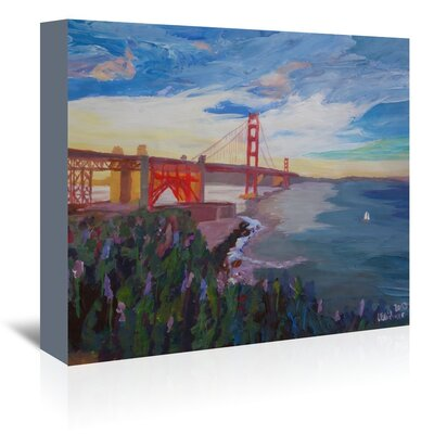 Americanflat 'Goldengate 3' by M Bleichner Art Print Wrapped on Canvas