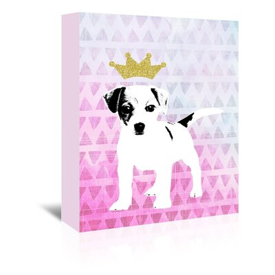 Americanflat 'Dog1' by Ikonolexi Graphic Art Wrapped on Canvas