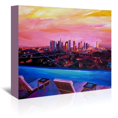 Americanflat La Infinitity' by Markus Bleichner Art Print Wrapped on Canvas