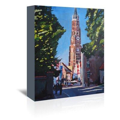 Americanflat 'Landshut Munchner Tor 1' by M Bleichner Art Print Wrapped on Canvas
