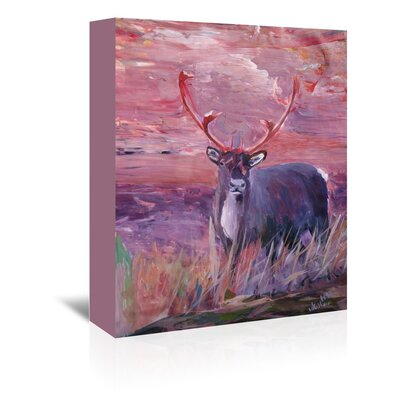 Americanflat 'Reindeer' by M Bleichner Art Print Wrapped on Canvas